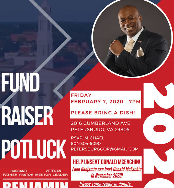 Help Elect Leon Benjamin for Congress in Virginia - Fund Raiser