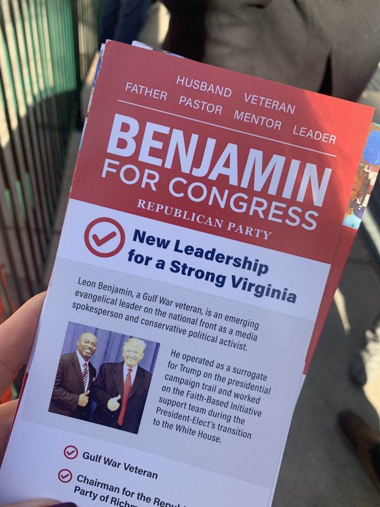 Benjamin for Congress - New Leadership for a Strong Virginia