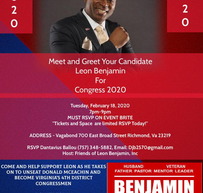 Benjamin for Congress in Virginia Republican 4th congressional district-2
