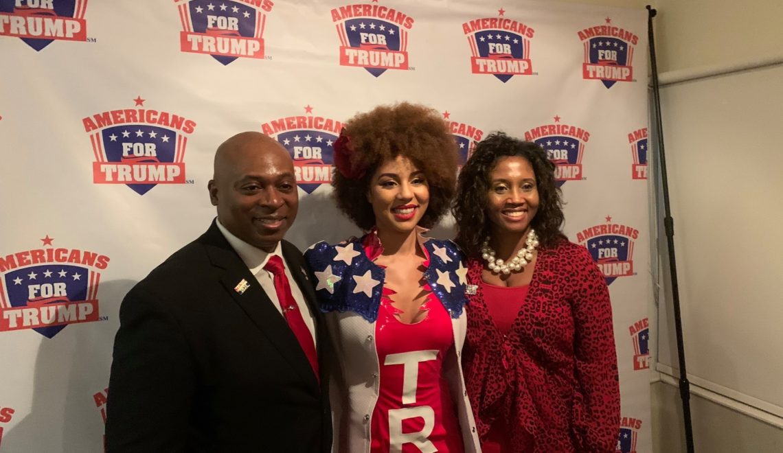 Joy Villa with Benjamin for Congress Virginia - Conservatives